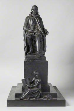 Model of the Memorial for Humphrey Chetham (1580–1653)