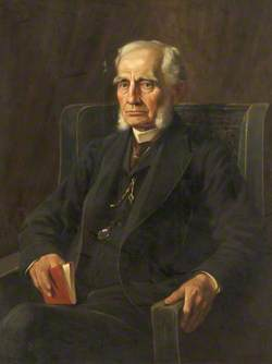 Dr Frank Renaud (1819–1904), MD; LRCS; LSA (all 1844); FSA; Honorary Physician (1848–1866) and Consulting Physician (1866–1902), Manchester Royal Infirmary