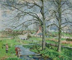 Sarson Farm, Early Spring