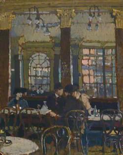 Conspiracy, Café Verrey