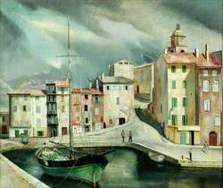The 'Concepcion' in the Harbour, St Tropez