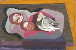 Still Life with Fish Head