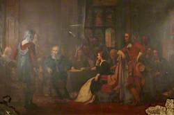 Cromwell's Protest against the Persecution of the Waldensian Ambassadors