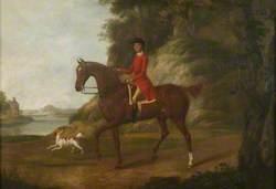 Huntsman in a Landscape