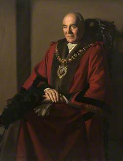 Alderman Abraham Moss, Lord Mayor of Manchester (1953–1954)