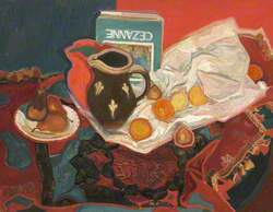 Still Life with a Cézanne Book*
