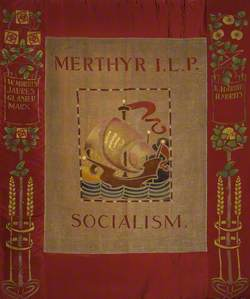 Merthyr Independent Labour Party Banner