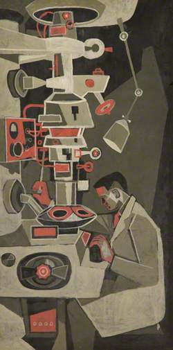 Man and Microscope