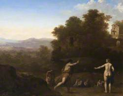 Landscape with Mythological Figures