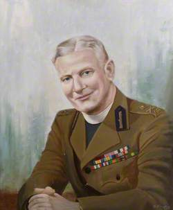 The Reverend Canon Frederick Llewellyn Hughes, CB, CBE, MC, TD, MA, KHC, Chaplain-General to the King (1944–1951)