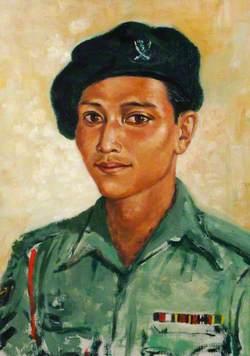 Naik Dilbahadur Rana, Orderly to Major Geoffrey Maycock of the 5th Royal Gurkha Rifles (Frontier Force)