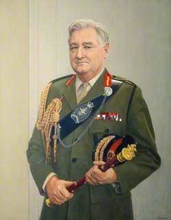 Field Marshal the Lord Bramall of Bushfield (b.1923), KG, GCB, OBE, MC, JP, Colonel 2nd King Edward VII's Own Gurkhas (The Sirmoor Rifles) (1976–1986), President of the Gurkha Brigade Association (from 1987), HM Lord Lieutenant of Greater London (from 1986)