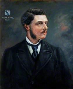 Frank Oates (1840–1875), FRGS