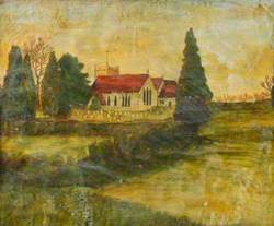 A Church, possibly Selborne