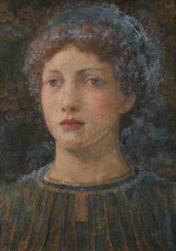 Portrait of a Girl amongst Grapes