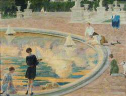 In the Tuileries Gardens