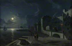 God's House Tower by Moonlight