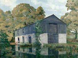 Botley Flour Mill Loading Barn
