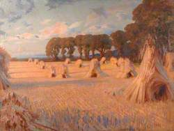 Corn Stooks, Farnham