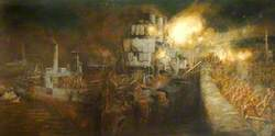 The Storming of Zeebrugge Mole, St George's Day, 23 April 1918