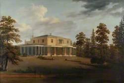 Leigh Park House, Havant, from the South-West