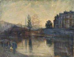 A Canal Scene