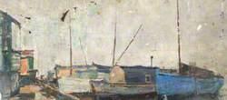 Houseboats at Milton, No. 9
