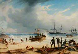 Landing in Surf at Algoa Bay, Cape of Good Hope, 30 March 1852