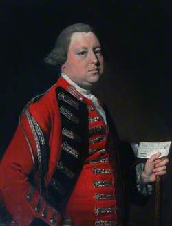 Colonel Mordaunt Cope Commanding the Hampshire Militia
