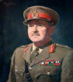 Major General A. M. Craig, CB, OBE (1944), Colonel Commandant, Chatham (1942–1944)