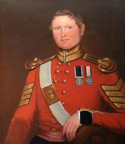 Sergeant Major George Dibben, RM