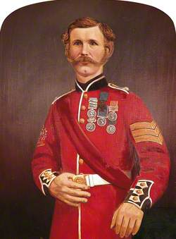 Corporal John Prettyjohns, VC (1823–1887), Royal Marine Light Infantry