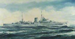 HMNZS 'Achilles', Cruiser, Built by Cammell Laird, Launched 1 September 1932