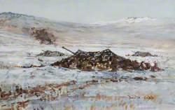 Artillery at Mount Kent