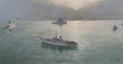 Gulf War, H Hour; Twelve Royal Navy Minesweepers Complete Their Task