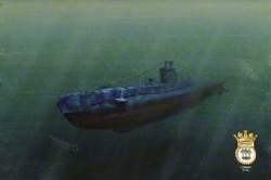 HMS 'Upright'