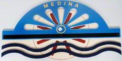 Ward Sign: Medina (Paddle Steamer)
