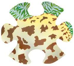 Jungle Jigsaw: Giraffe Tail