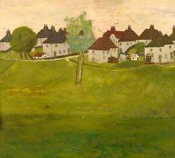 Park with Houses