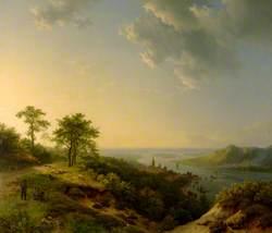View over Heidelberg