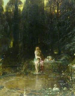 Susannah at a Stream