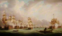 The Battle of Trafalgar, 21 October 1805