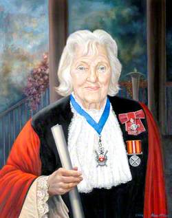 Councillor Hilda Kathleen ('Kathy') Johnson, Mayor of Southampton (1969)