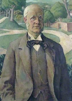 Portrait of W. E. Darwin (1839–1914)