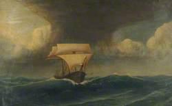 Sailing Ship under Reduced Sail