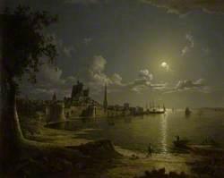 Moonlight Scene, Southampton