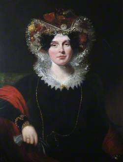 Elizabeth Hobbes, Wife of Luke Groves Hansard