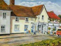 Parade House and Shops, Ashwell