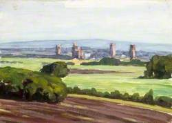 Landscape with Tower Blocks