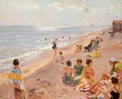 Silver Morning, Aldeburgh Beach